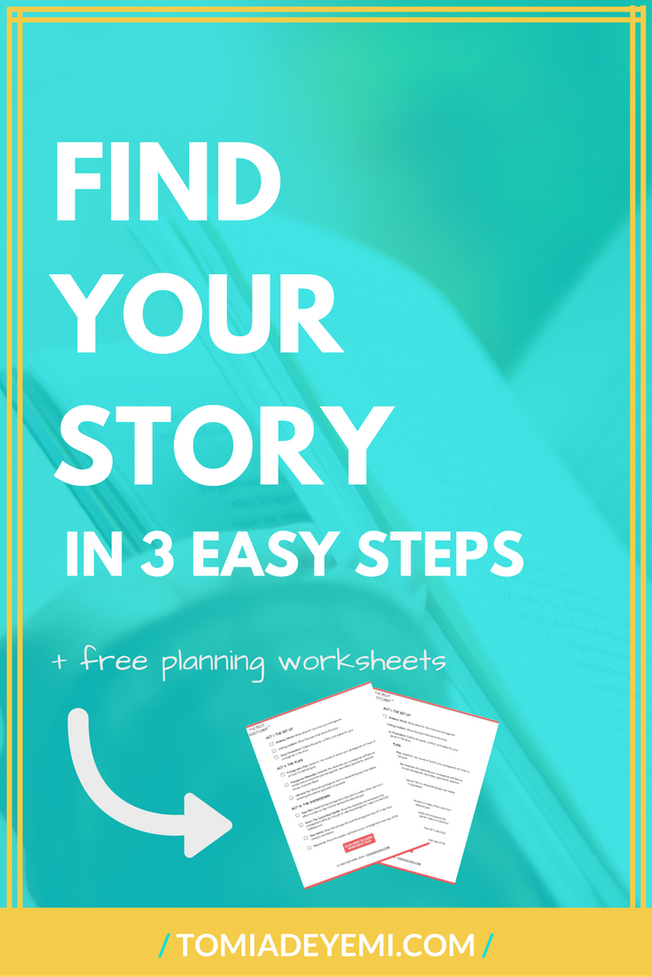 Want to write a book? Click here to learn a fun way to figure out the story you want to write!