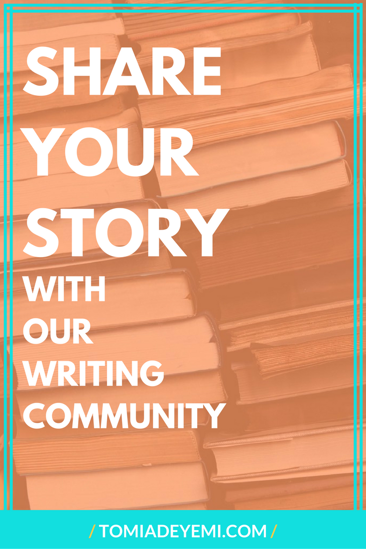 Share Your Story With Our Writing Community