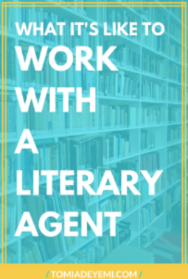 What It's Like To Work With A Literary Agent