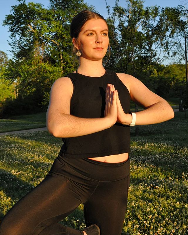 """Yoga is a dance between control and surrender."" Come ""dance"" through #vinyasaflow w/ Regan Wednesday morning @ 9AM in #morningyoga! And lunch vinyasa flow @ noon with Elisabeth! . . . .  #morningmotivation #morninginspiration  #yogapractice #yogaclass #treepose"