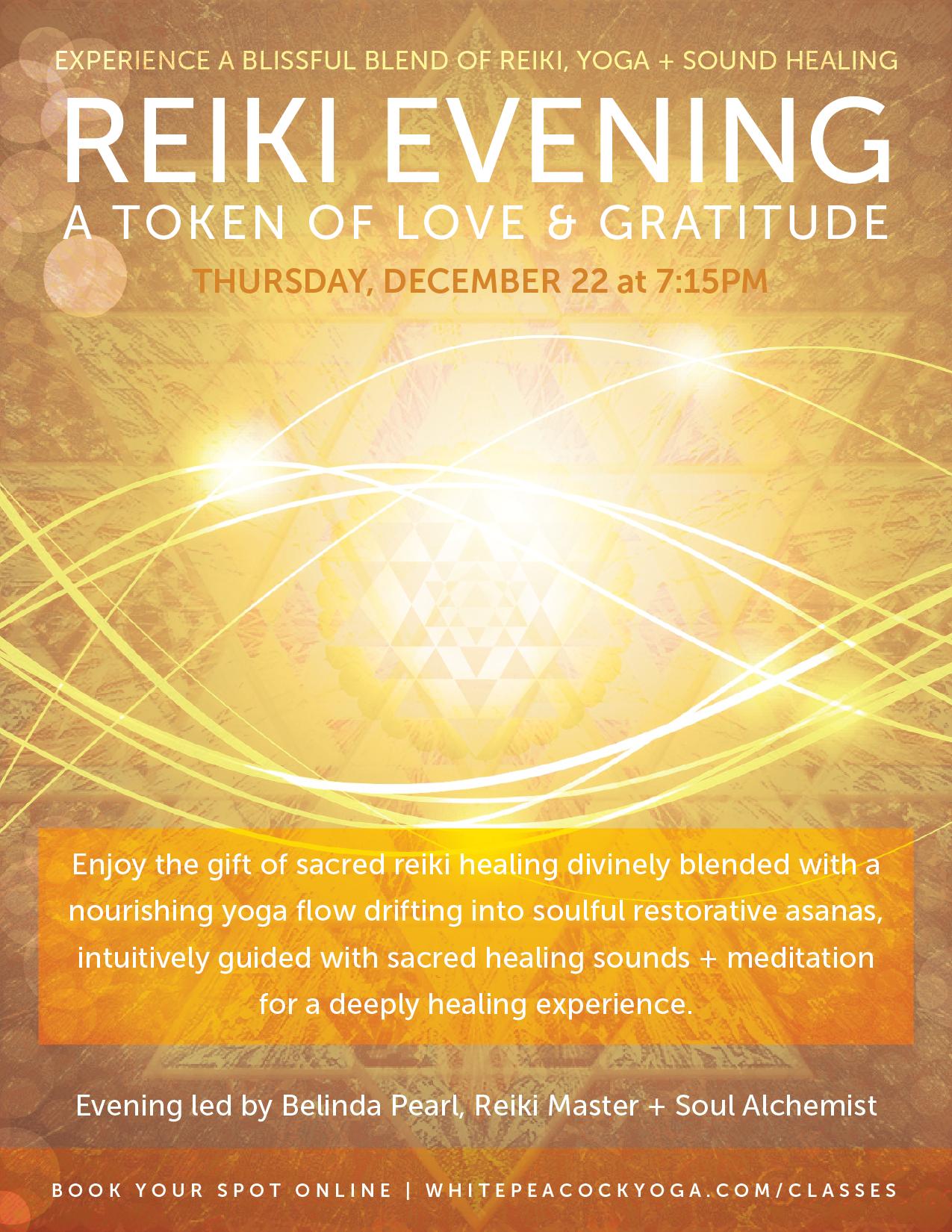Reiki an Evening of Healing