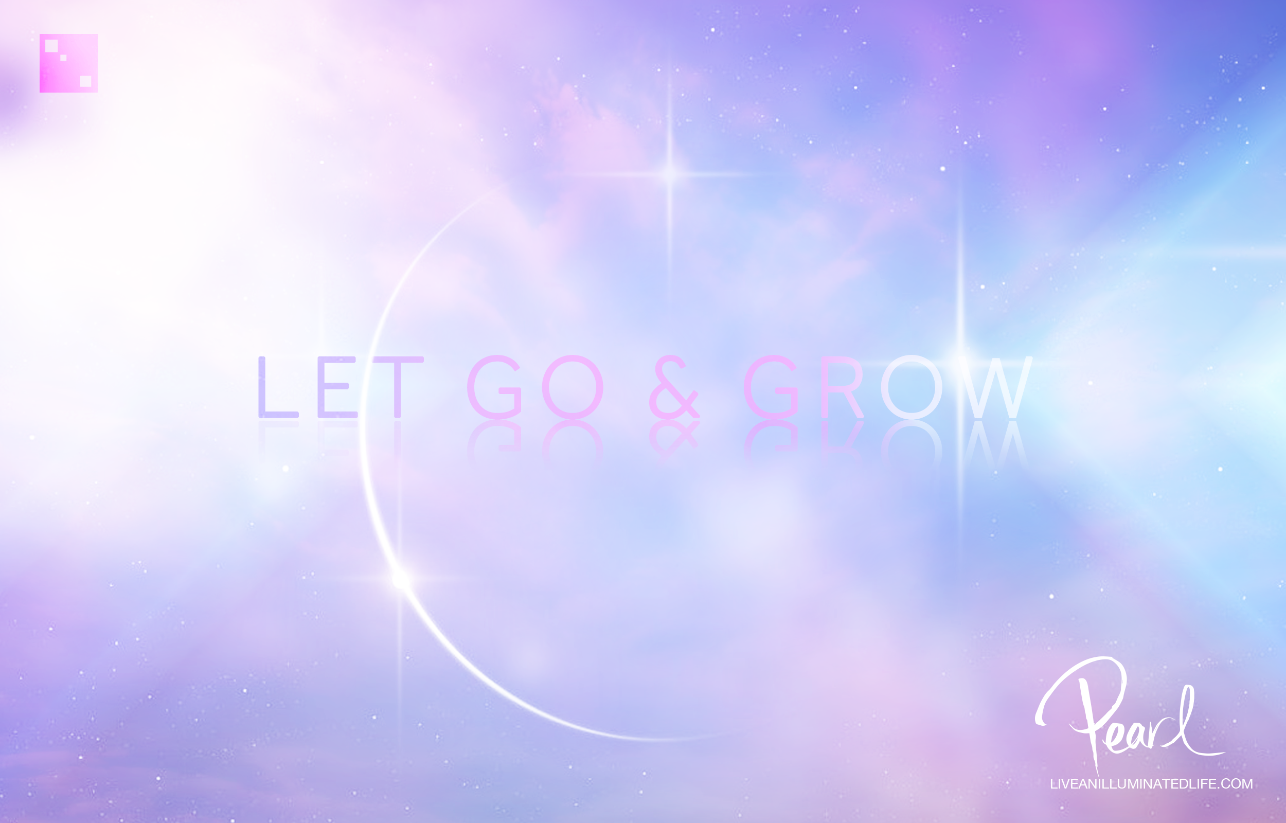 Let Go and Grow by Belinda Pearl