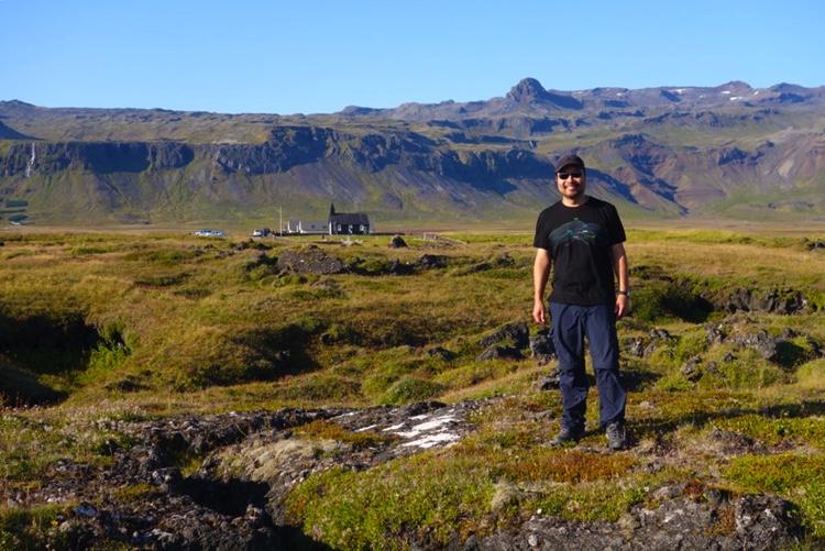 Spencer Leu in Iceland