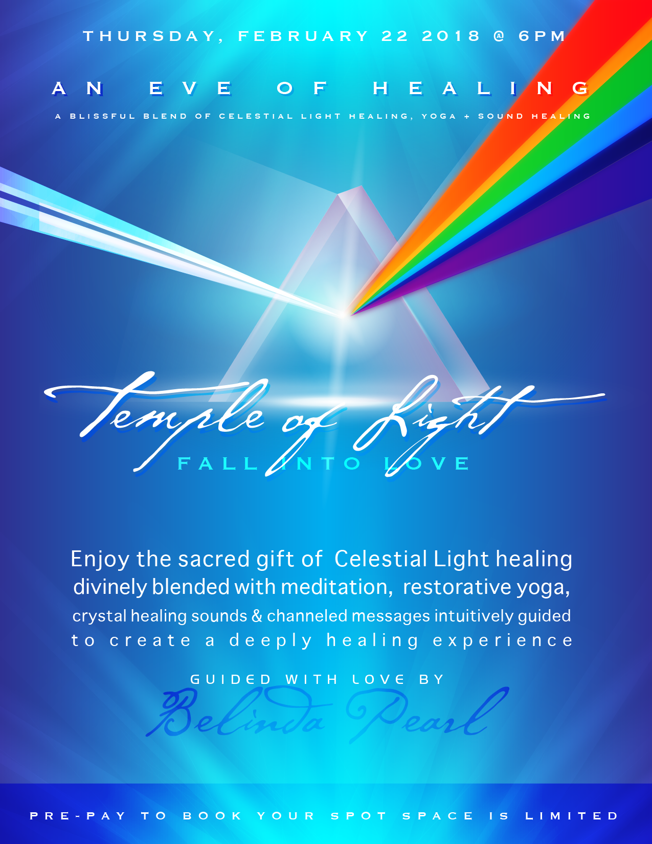 Temple of Light - An Evening of Healing