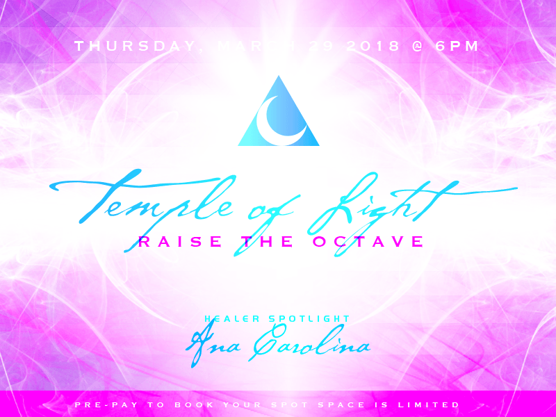 temple of healing - Raise the Octave