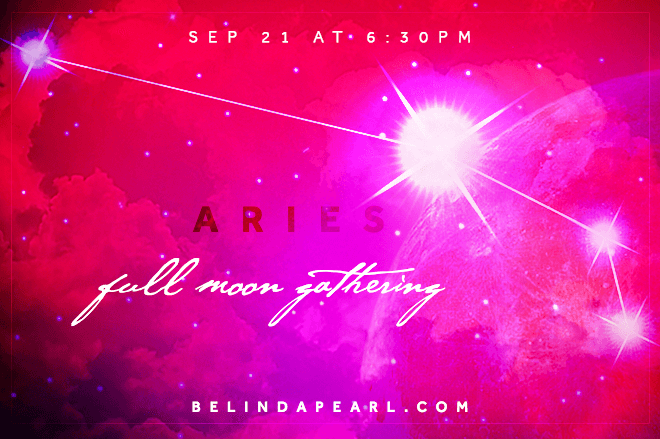 Full Moon Gathering Aries