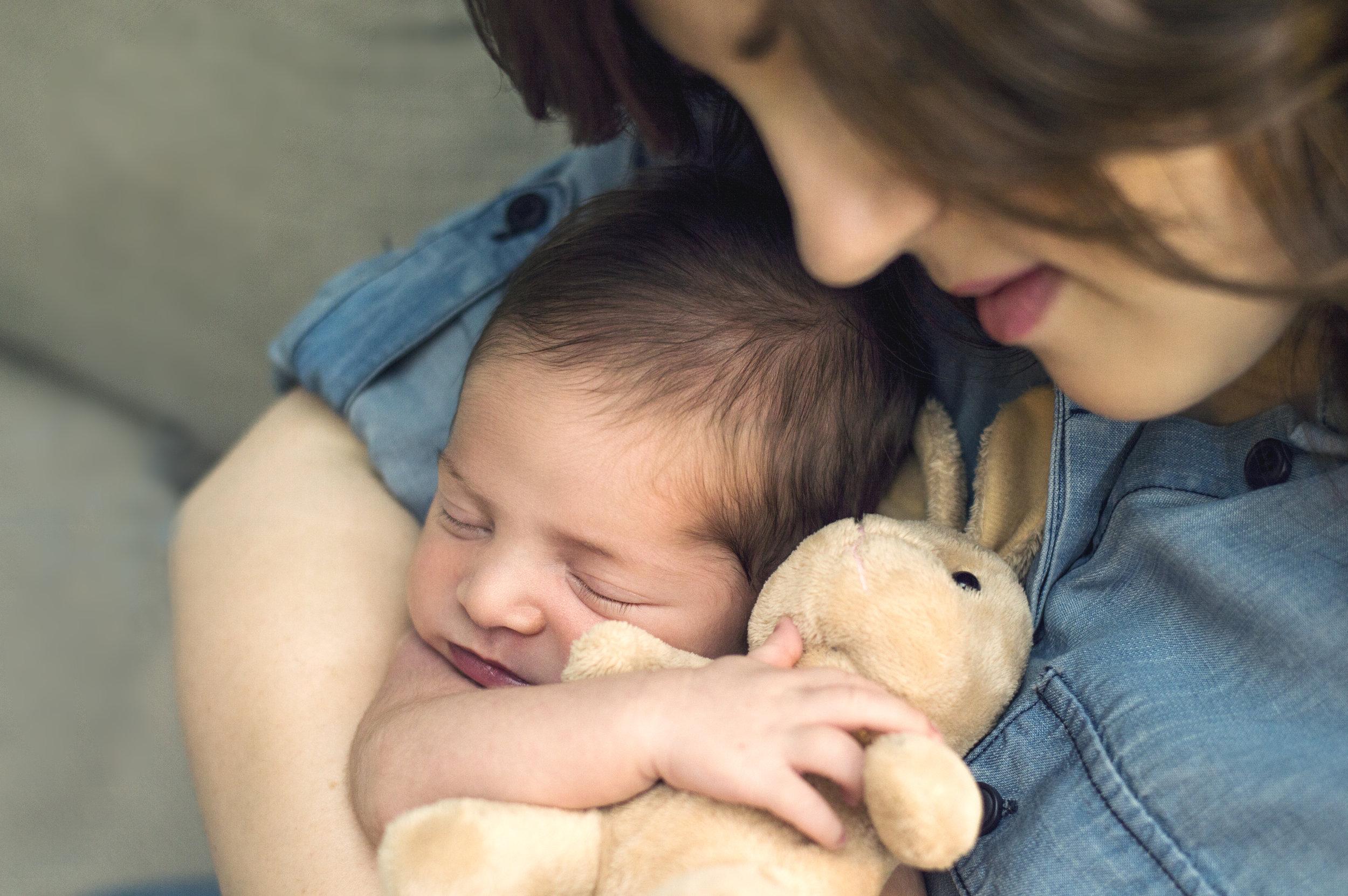 Lifestyle Newborn Photoshoot