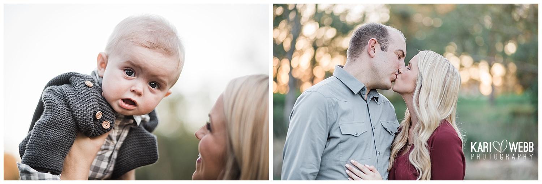 Kari Webb Photography_Irvine Family Photographer_ parents kissing baby in the air.jpg