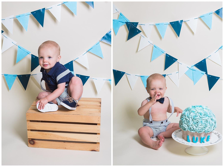 Kari Webb Photography_Orange County Photography_ blue cake smash boy.jpg