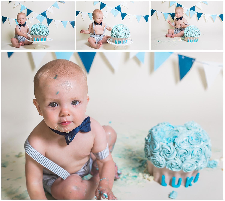 Kari Webb Photography_Orange County Photography_ Cake Smash with blue cupcake .jpg