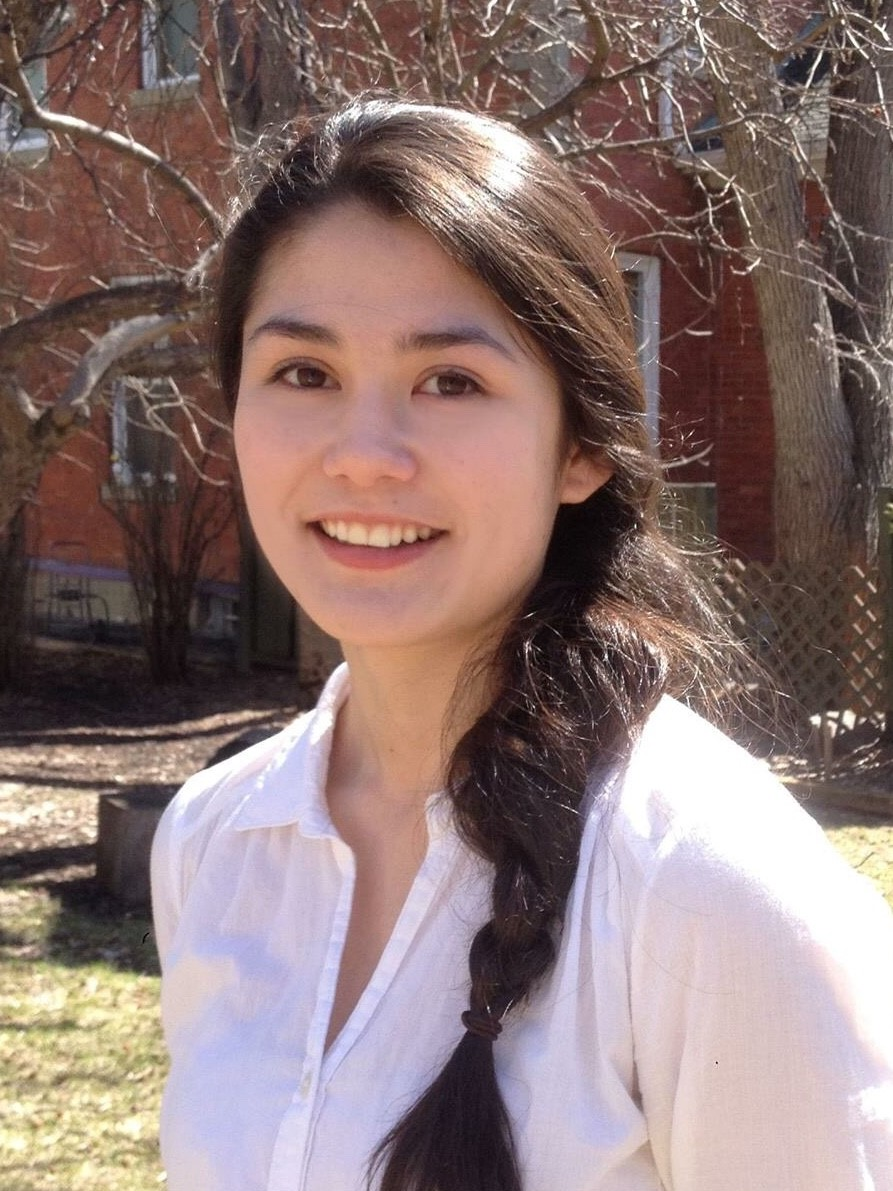 Mia Au    Canada Masters Student Department of Physics and Astronomy   Mia's research project is the study of thermal behaviour of target materials for applications in isotope separation online.