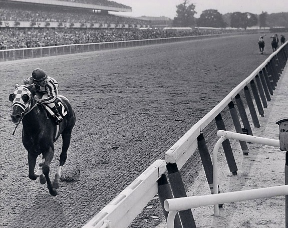 Secretariat at Belmont