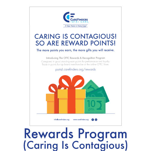 Rewards Program (Caring Is Contagious)