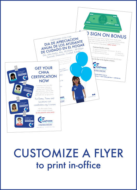 Customize A Flyer