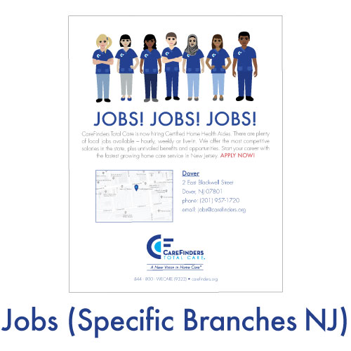 Jobs (Specific Branches NJ)