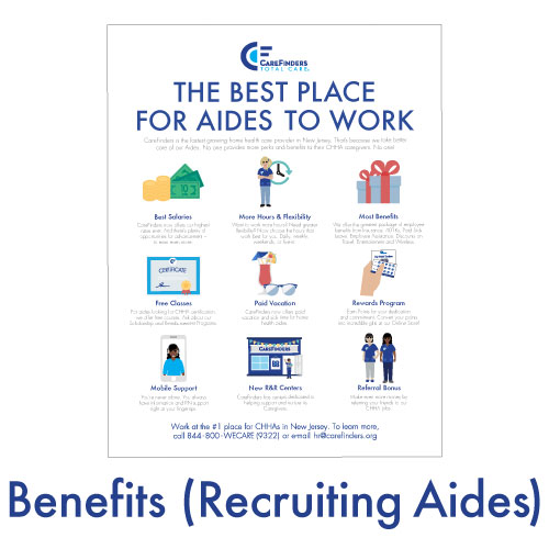 Benefits (Recruiting Aides)