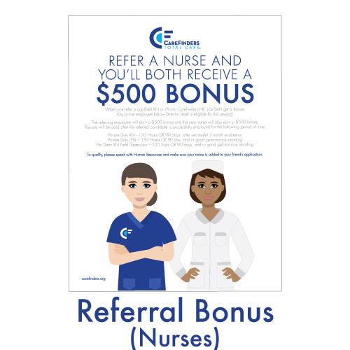 Referral Bonus (Nurses)