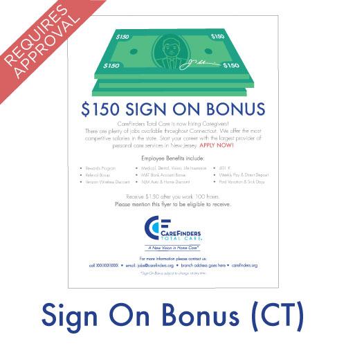 Sign On Bonus (Connecticut)