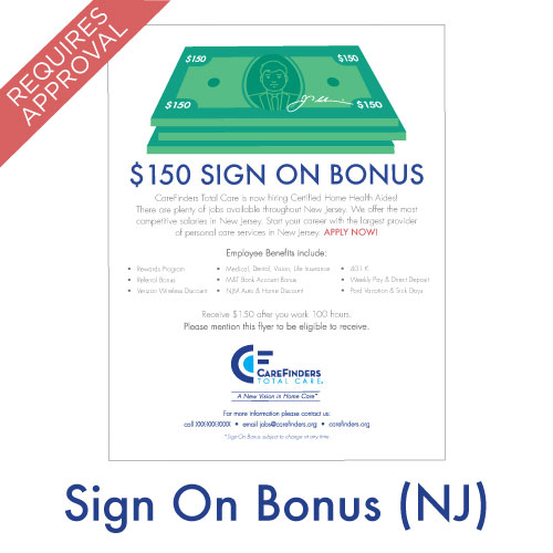 Sign On Bonus (New Jersey)