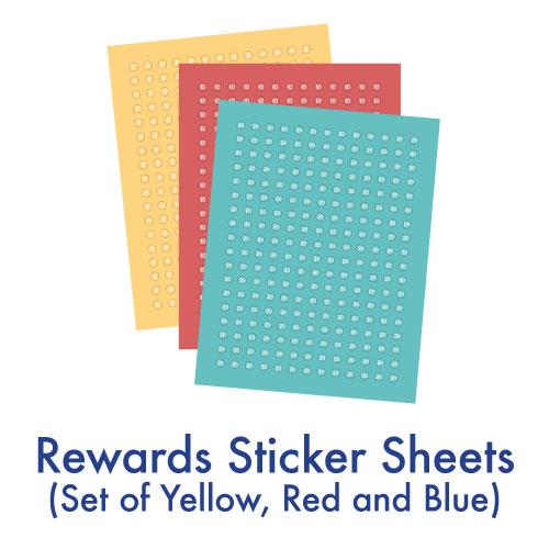 Reward Sticker Sheets