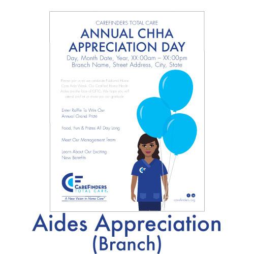 Aides Appreciation (Branch)