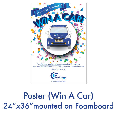 Poster (Win A Car)