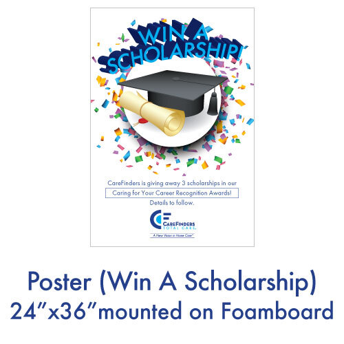 Poster (Win A Scholarship)