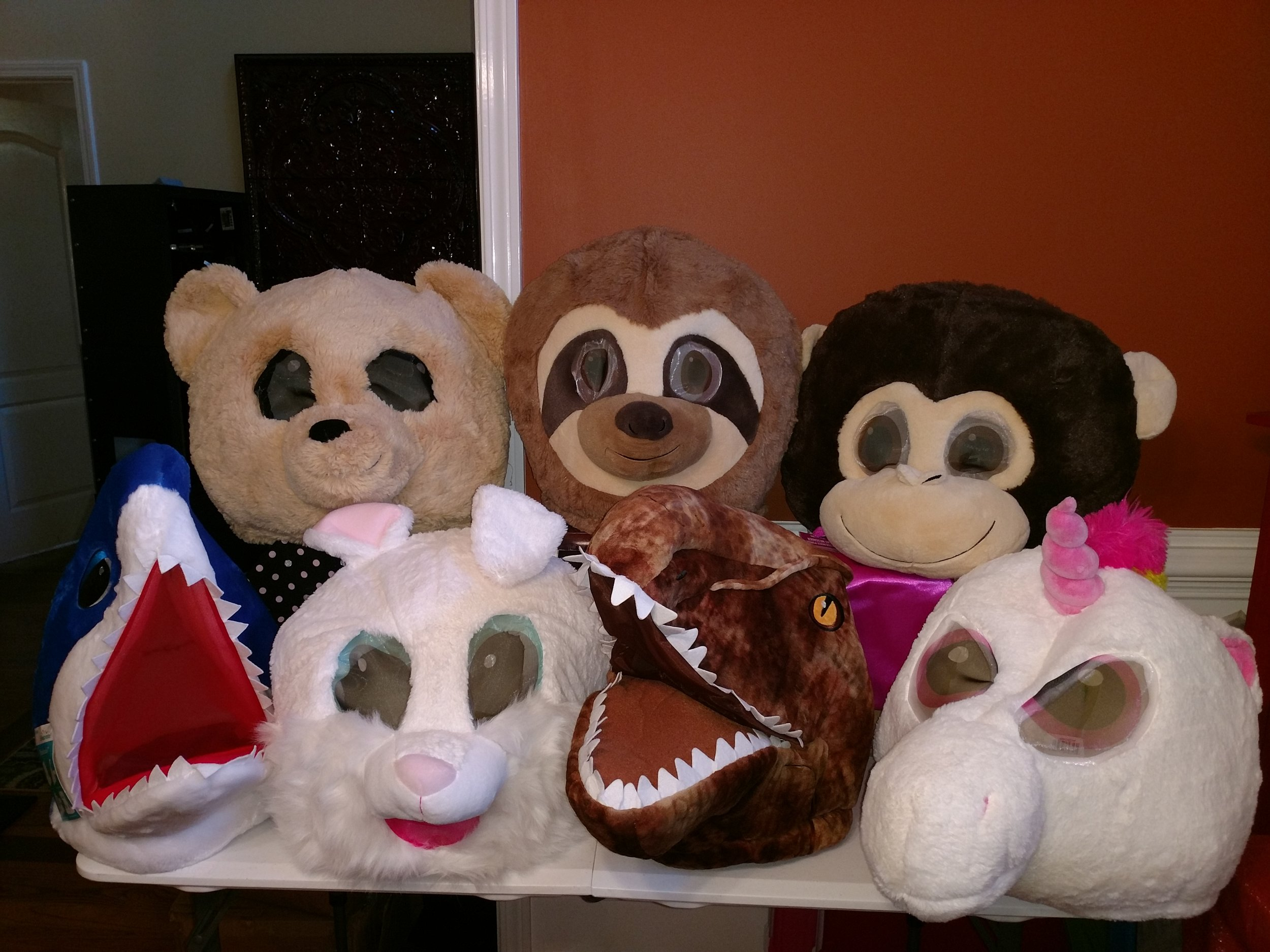 These masks are the new trend at parties. Let us know if you want us to add them to your package.