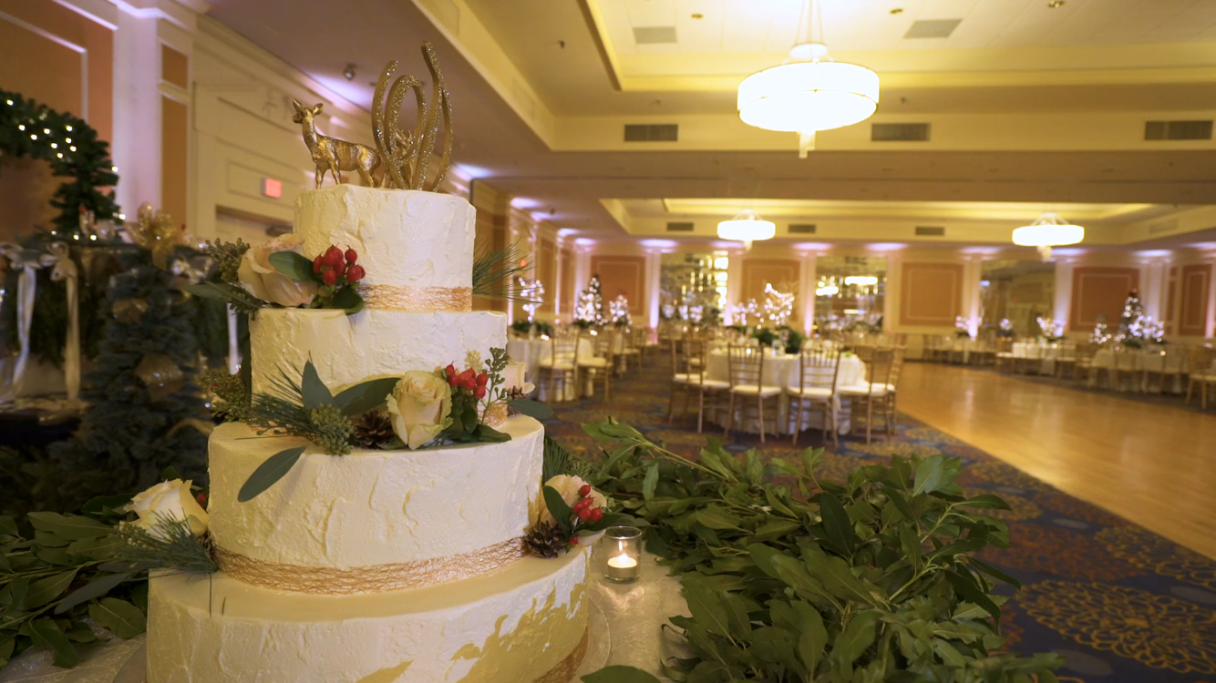 Holiday Wedding - DoubleTree by Hilton Hotel Boston North Shore