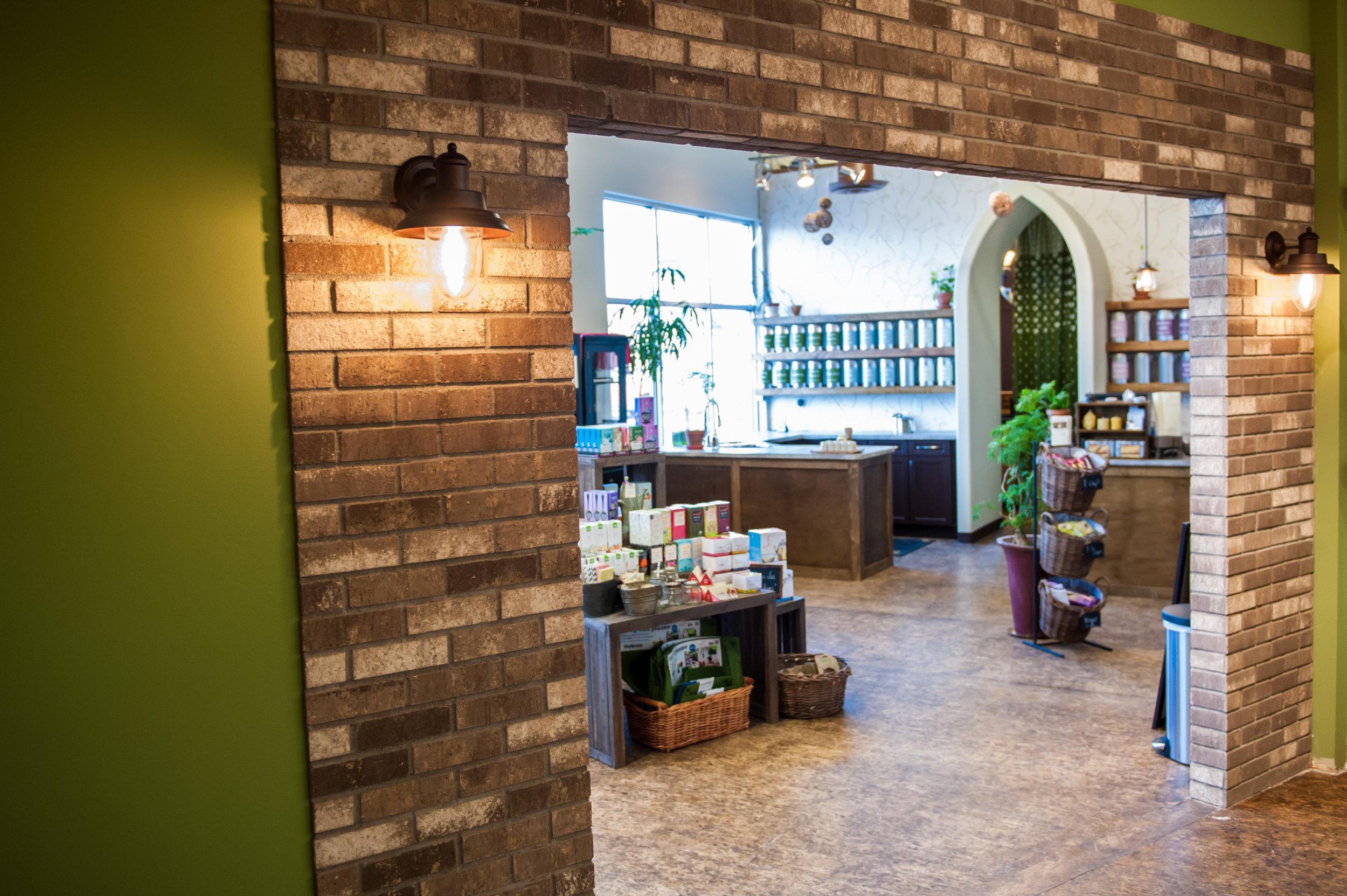Retail Space Brick Work
