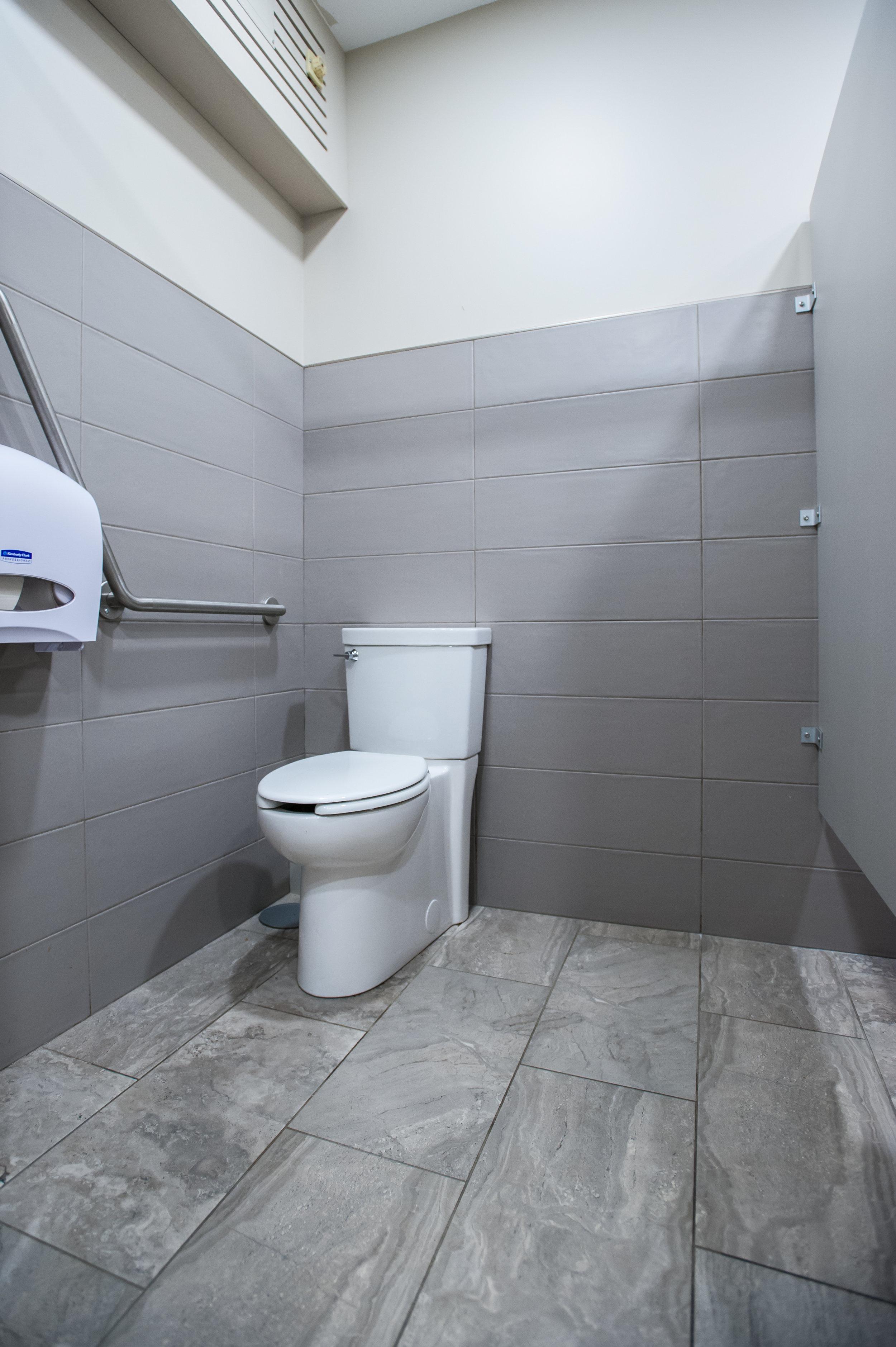Barrier Free Washroom Tile