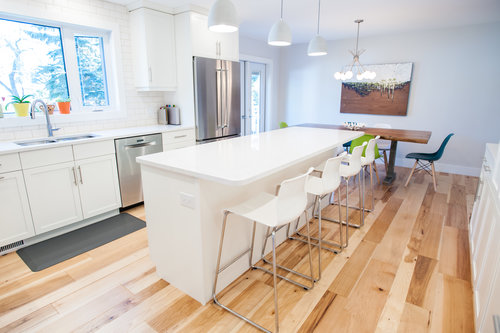 hardwood flooring light