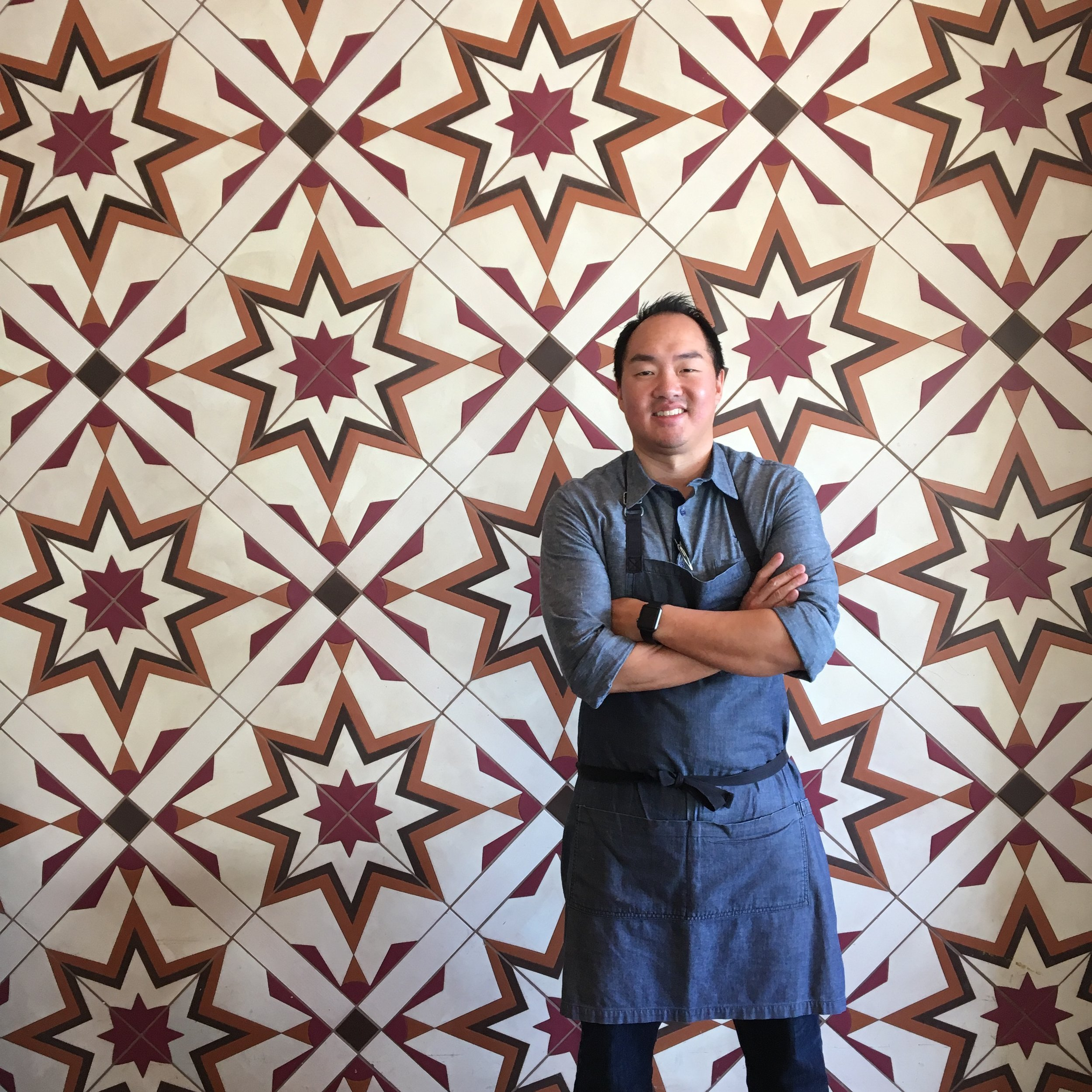Chef James Siao, passionate cyclist and executive chef genius at Finch & Fork Restaurant in Santa Barbara, CA.