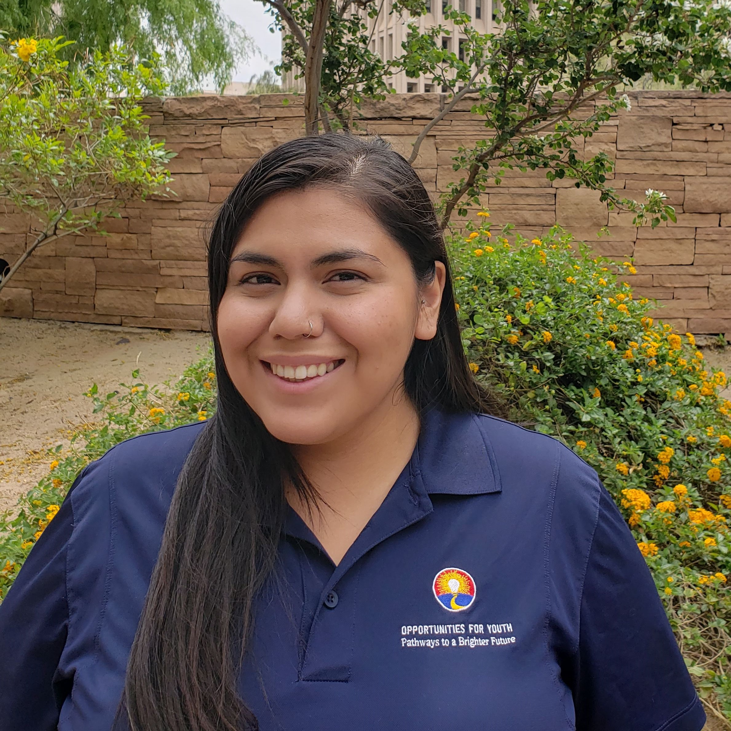 Channtal Polanco   Reengagement Specialist   Channtal Polanco joined Opportunities for Youth in September of 2018 as an AmeriCorps Public Ally of Arizona. Channtal is a first generation college student attending Phoenix College to obtain her Associates in Arts. As a former opportunity youth herself, Channtal yearns to make a difference in her community while helping others grow alongside her in the process. When she concludes her term of service with Public Allies, Channtal plans to continue her education at the Arizona State University School of Social Work. Opportunities for Youth has helped Channtal see herself as a leader in her community, igniting her passion to serve and uplift those around her.    Channtal.Polanco@asu.edu         (602) 529-7810