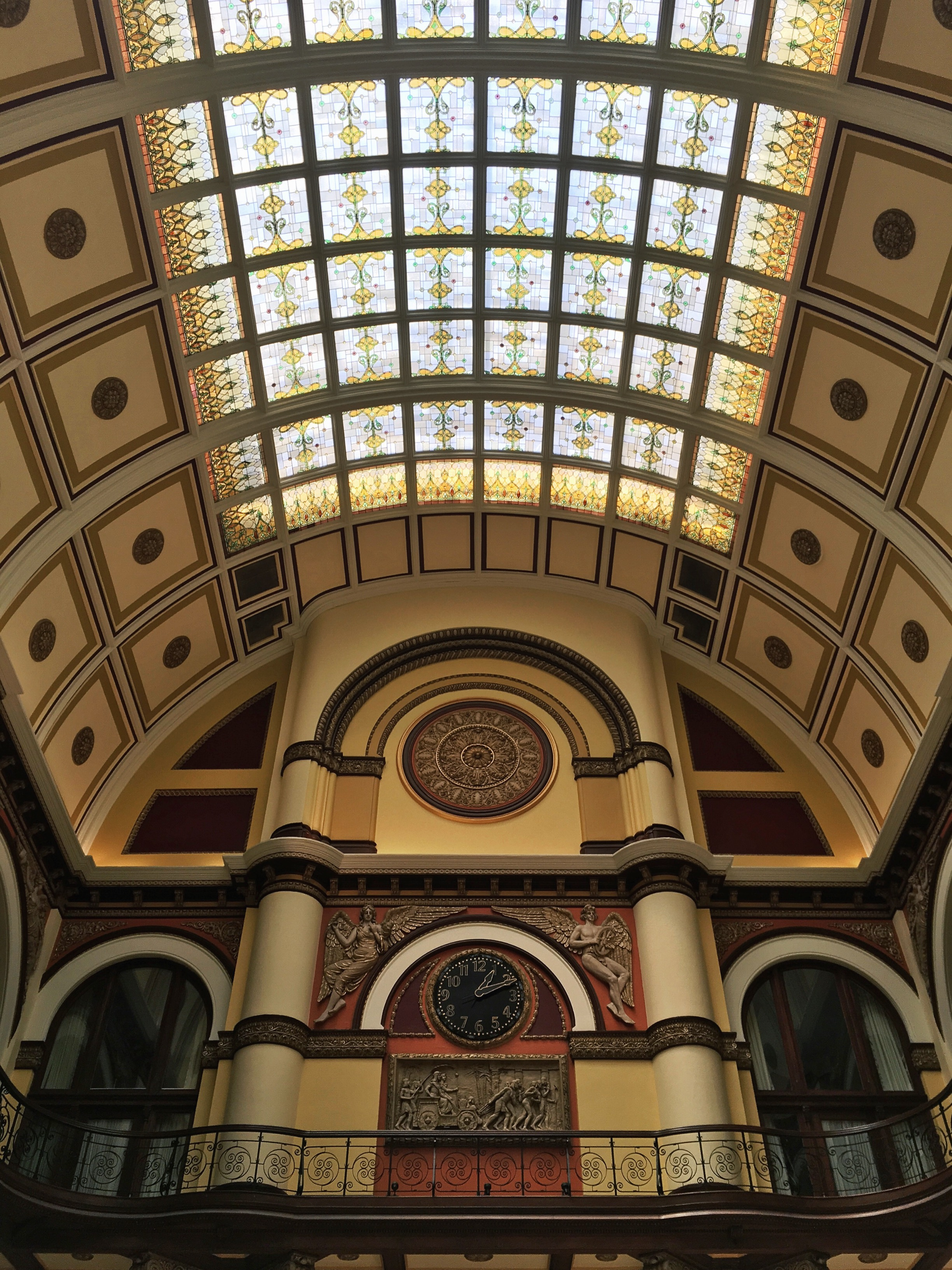 We did check out the stunning lobby of the Union Station Hotel on our morning jaunt.