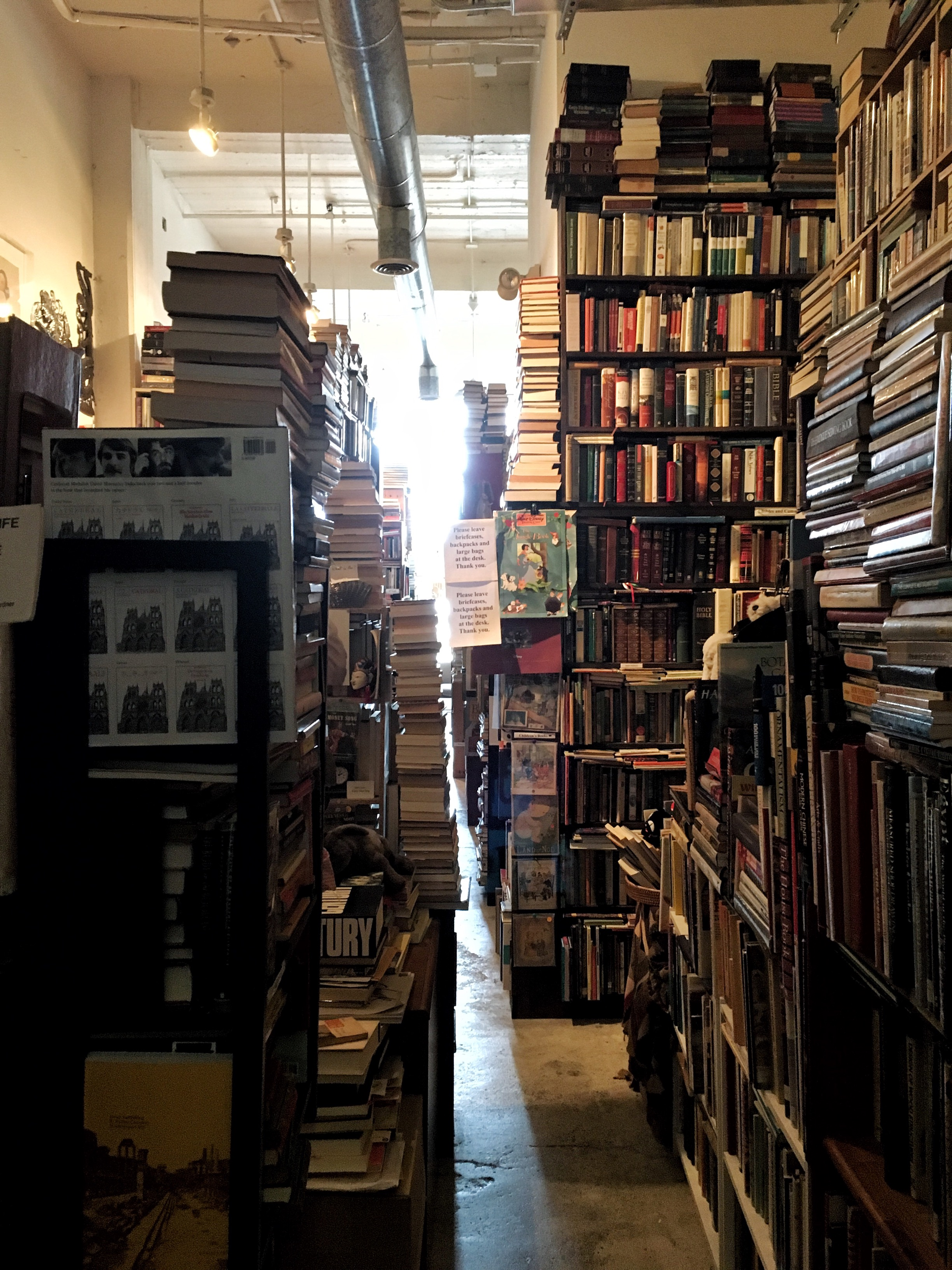 And a book store with objectively too many books in it.