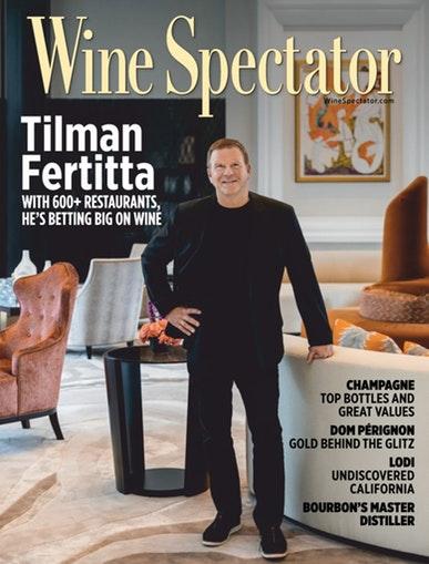 WINE SPECTATOR MAGAZINE 12/15/18