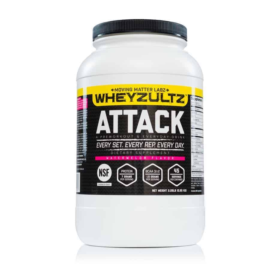 Wheyzultz Attack - $45 - Pre-Workout & Everyday Drink