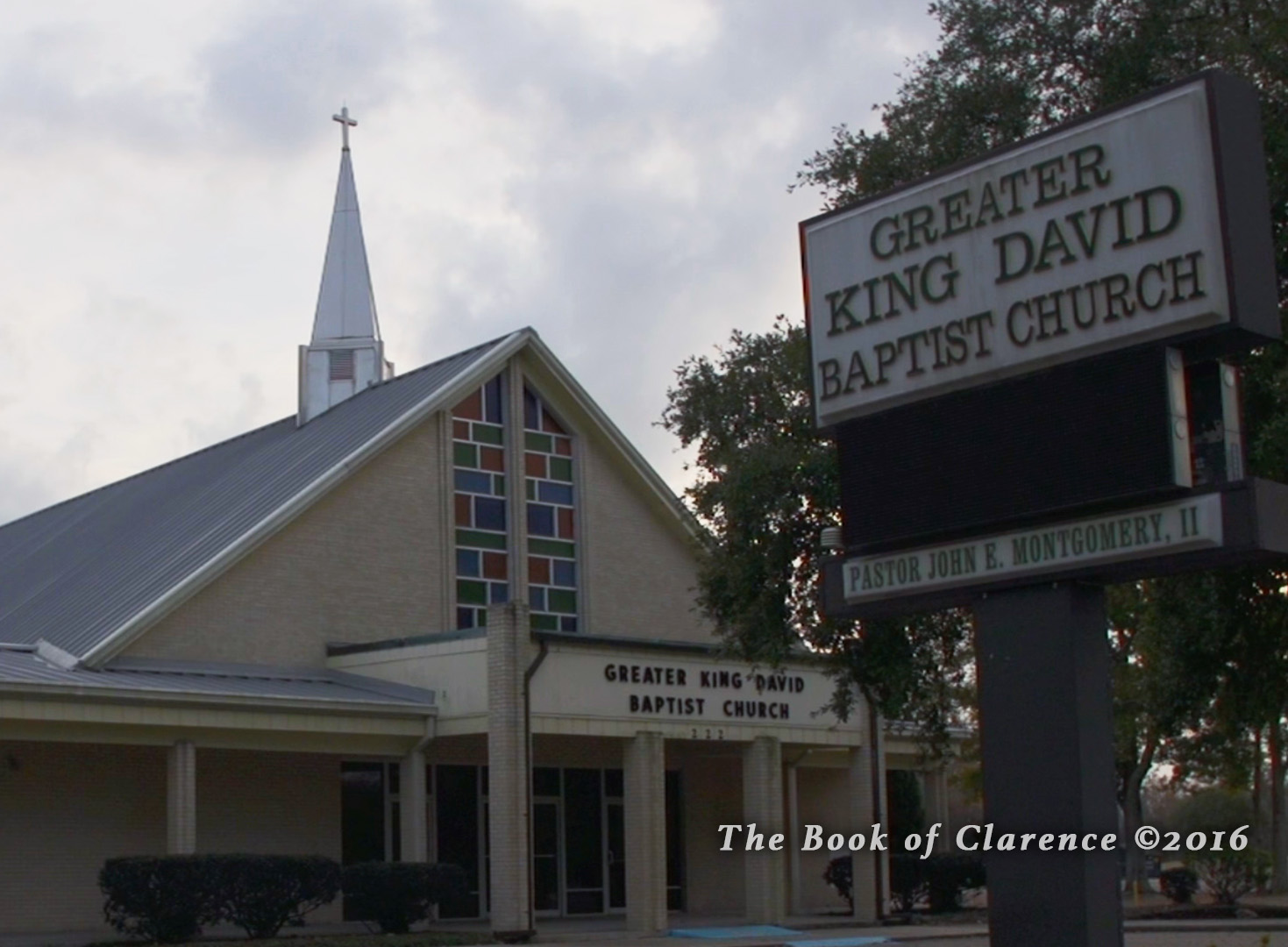 Greater King David Church, The Book of Clarence