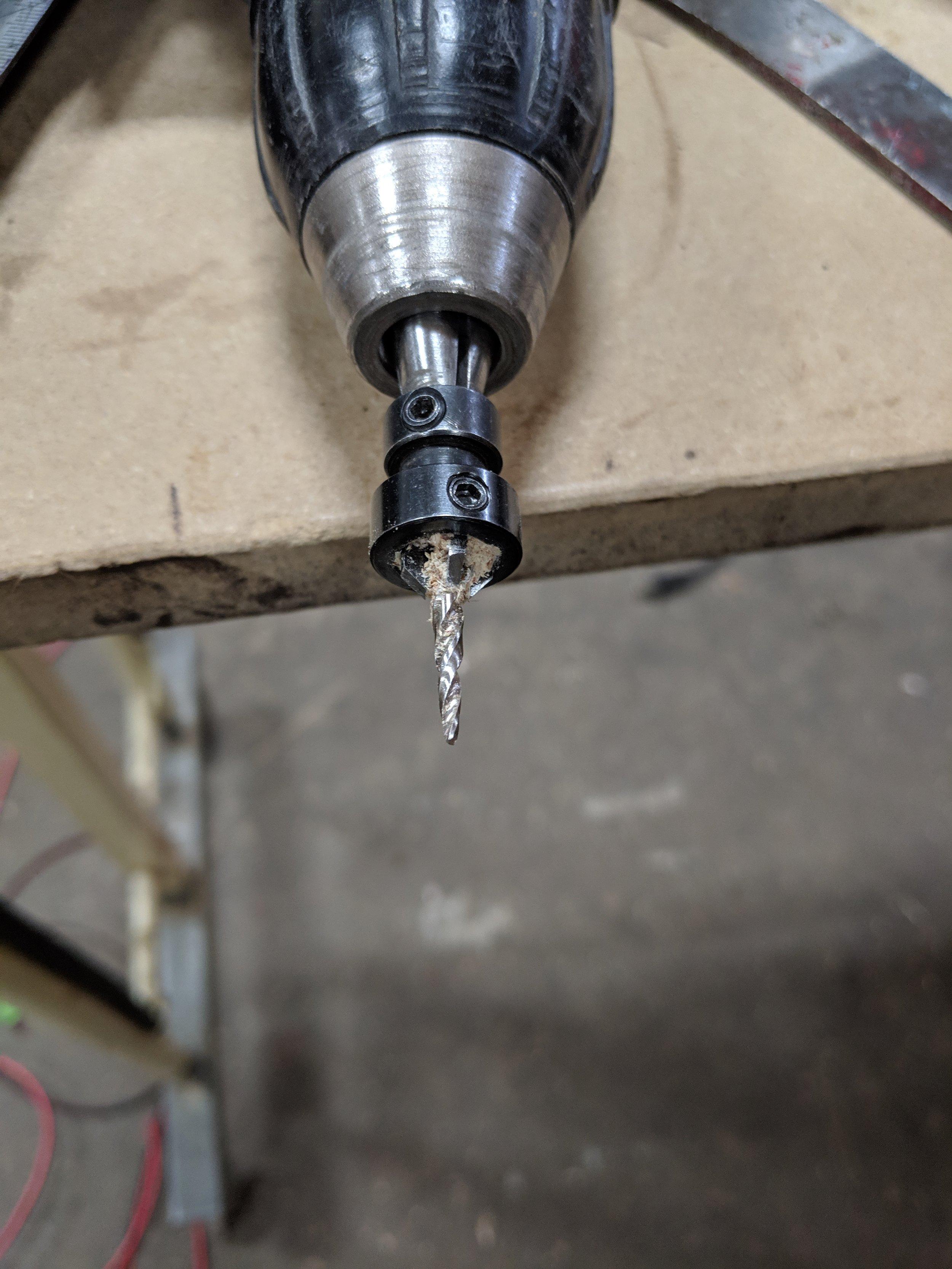 Counter sink drill bit