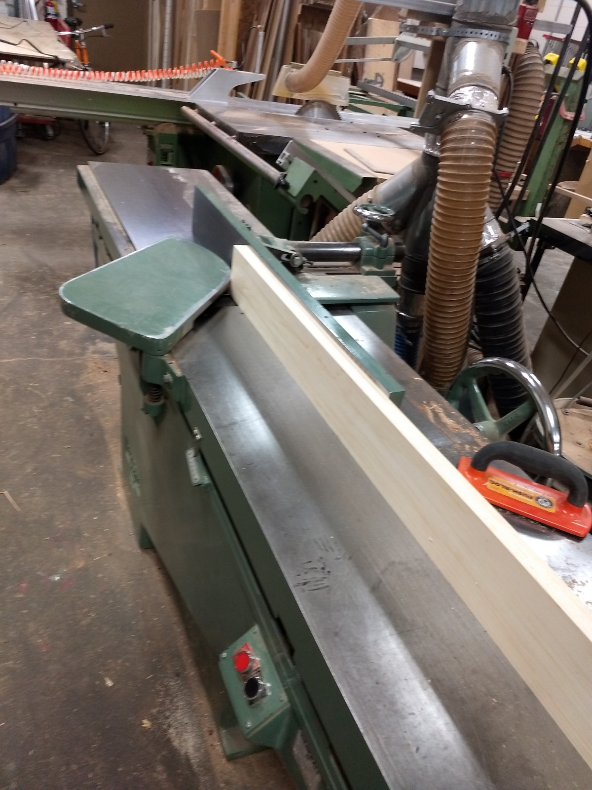 Jointing edge