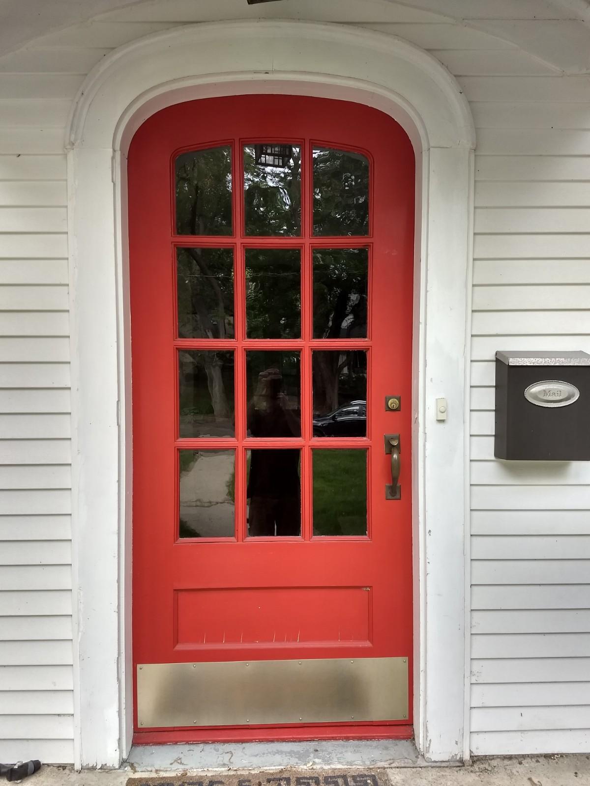 Before - No storm door