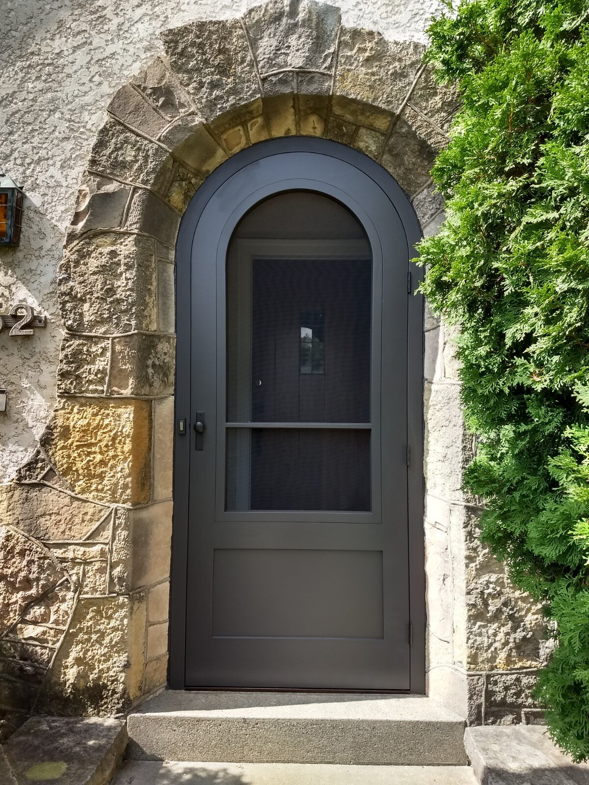 After - New door and frame