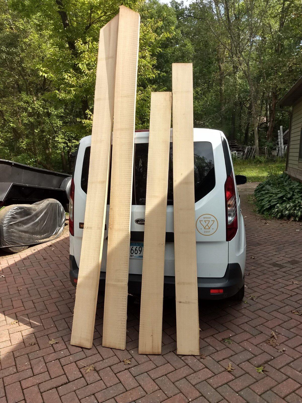 Boards for the door