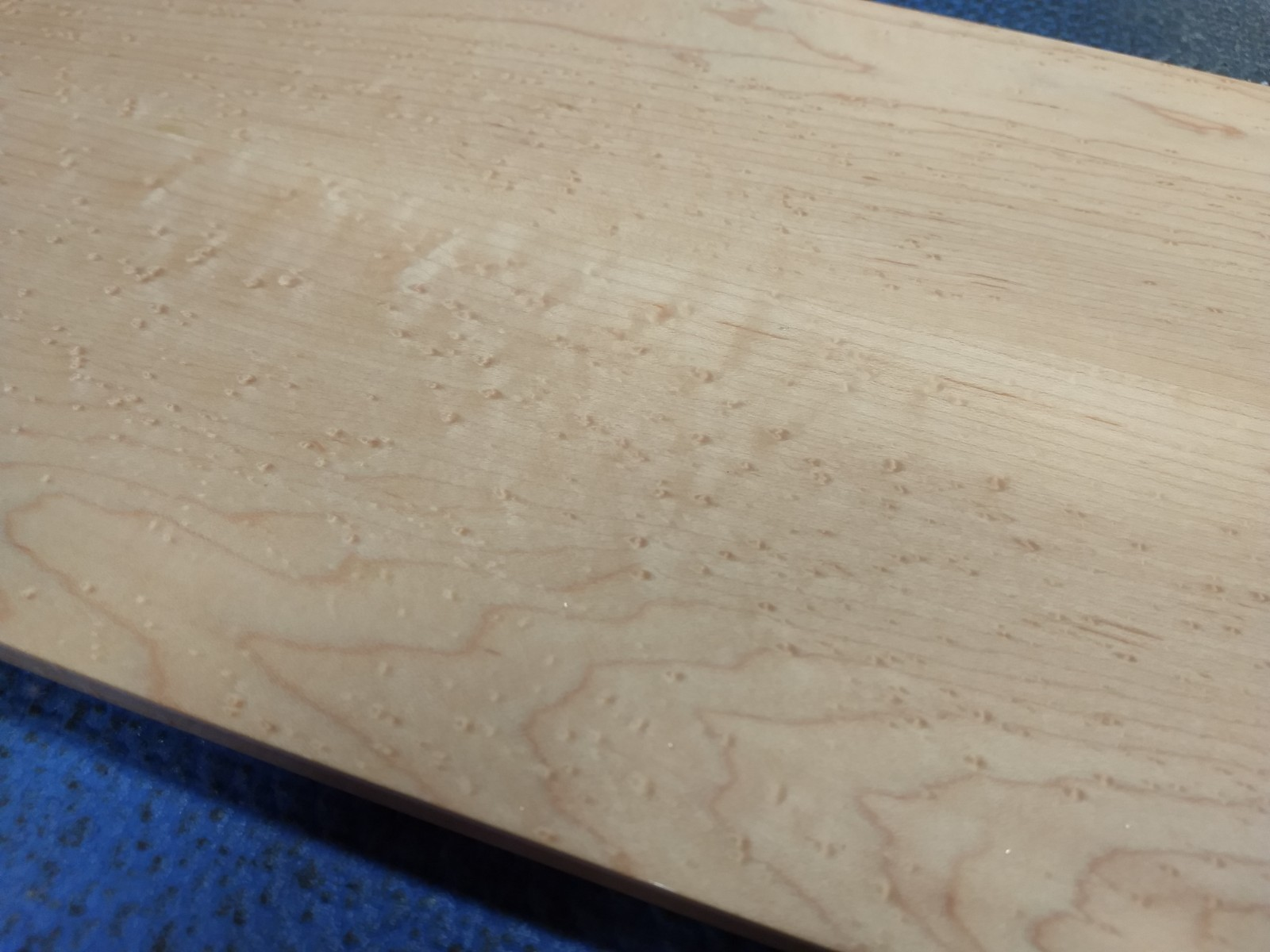 Surface after wet sanding