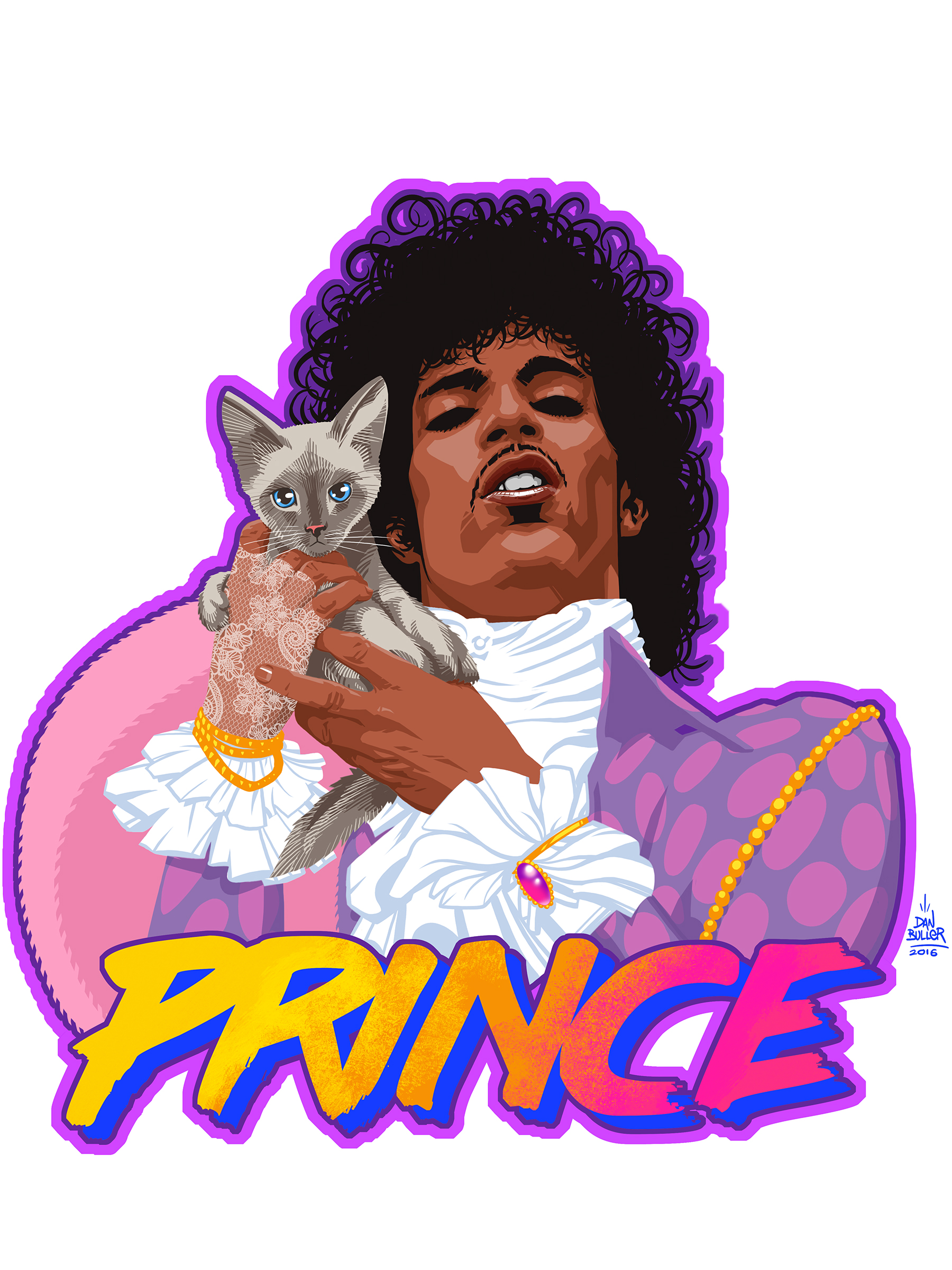 Prince and Doctor Fink the Kitten