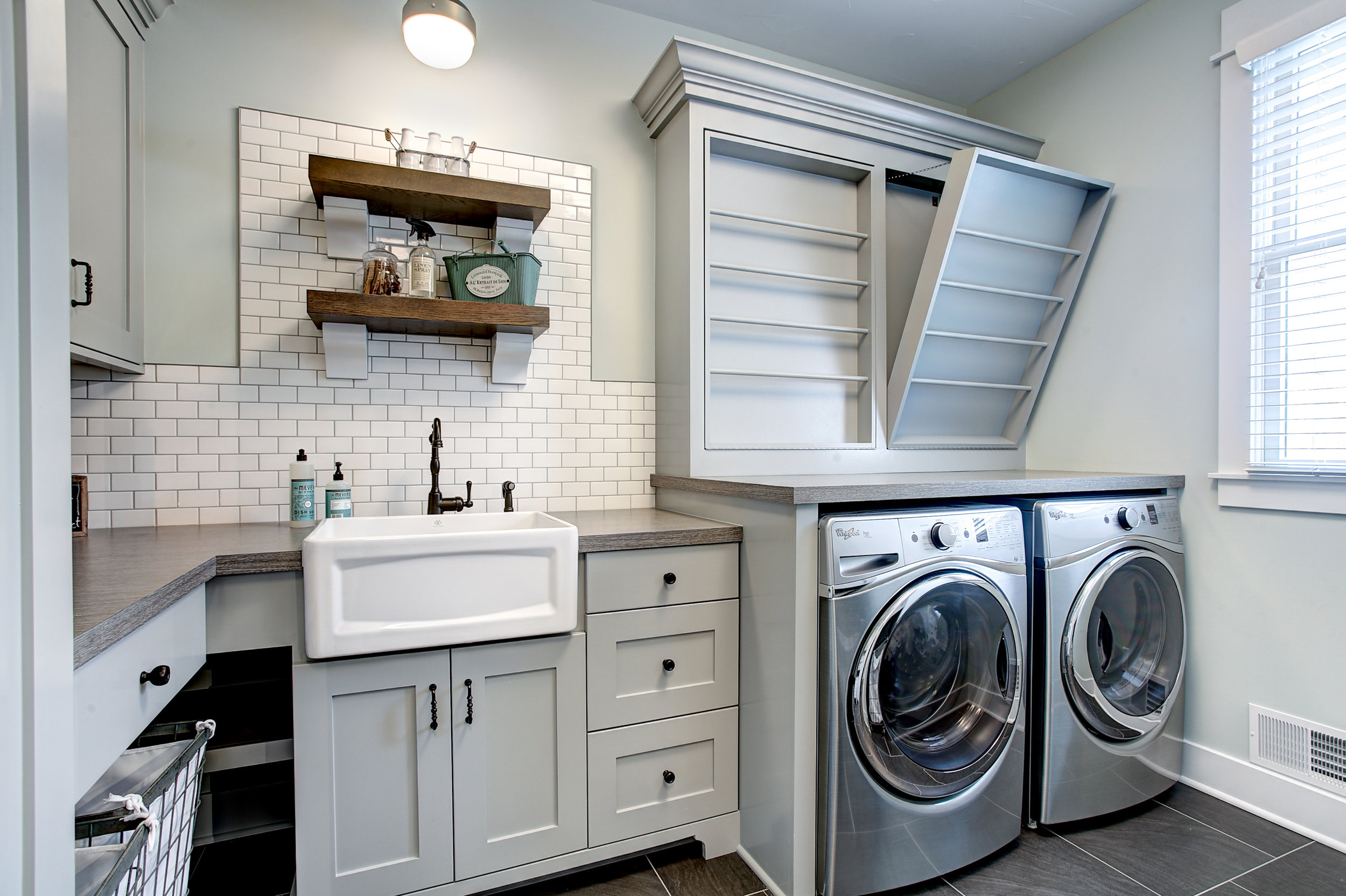 Holland Custom Laundry Room