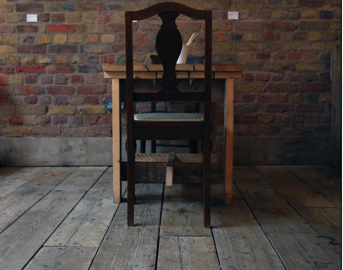 Abby Joy Designs Kahaila Café, architectural interiors, furniture design Arts Venue, Bricklane, London