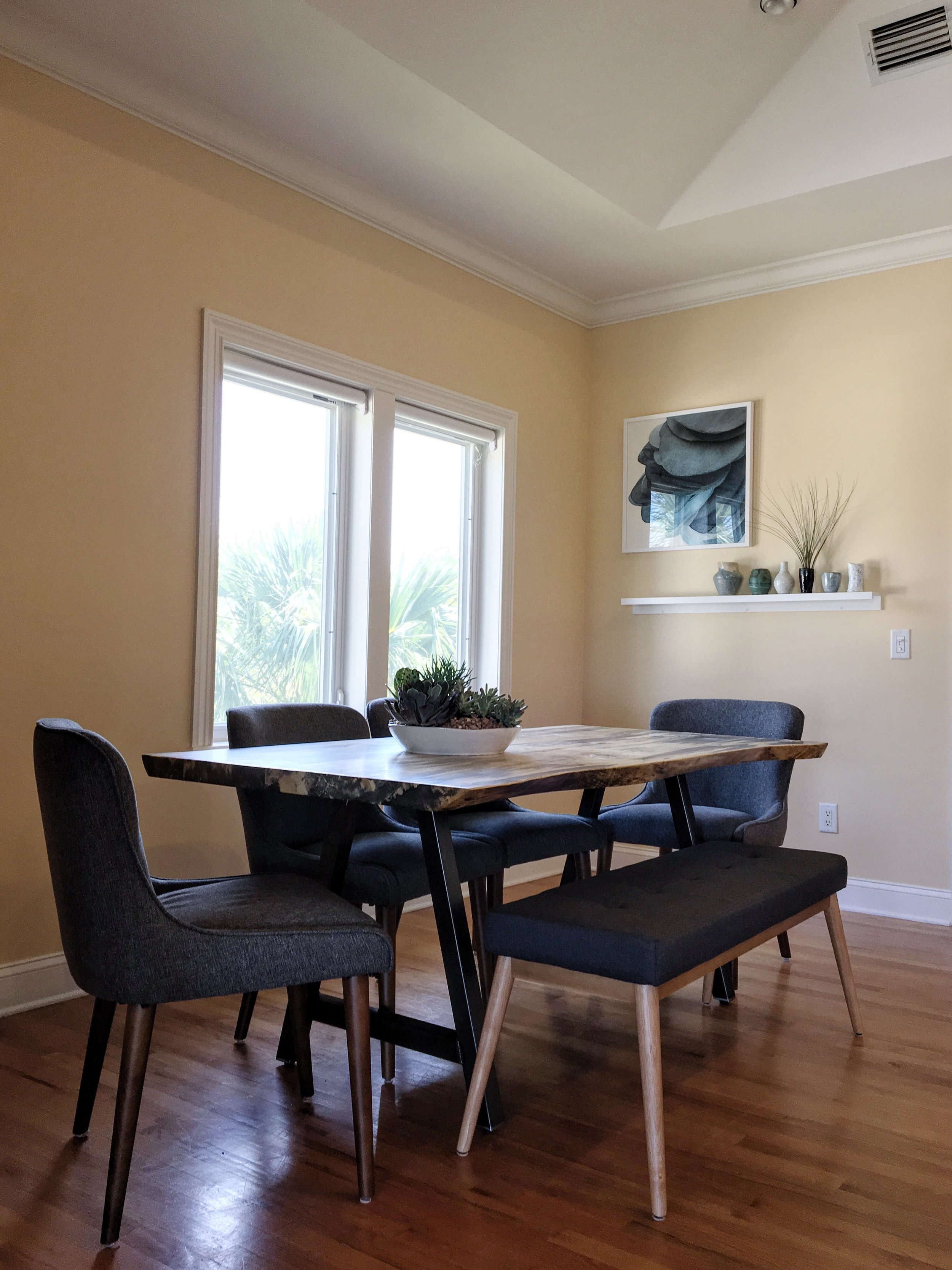 Horse Chestnut Dining Room Table