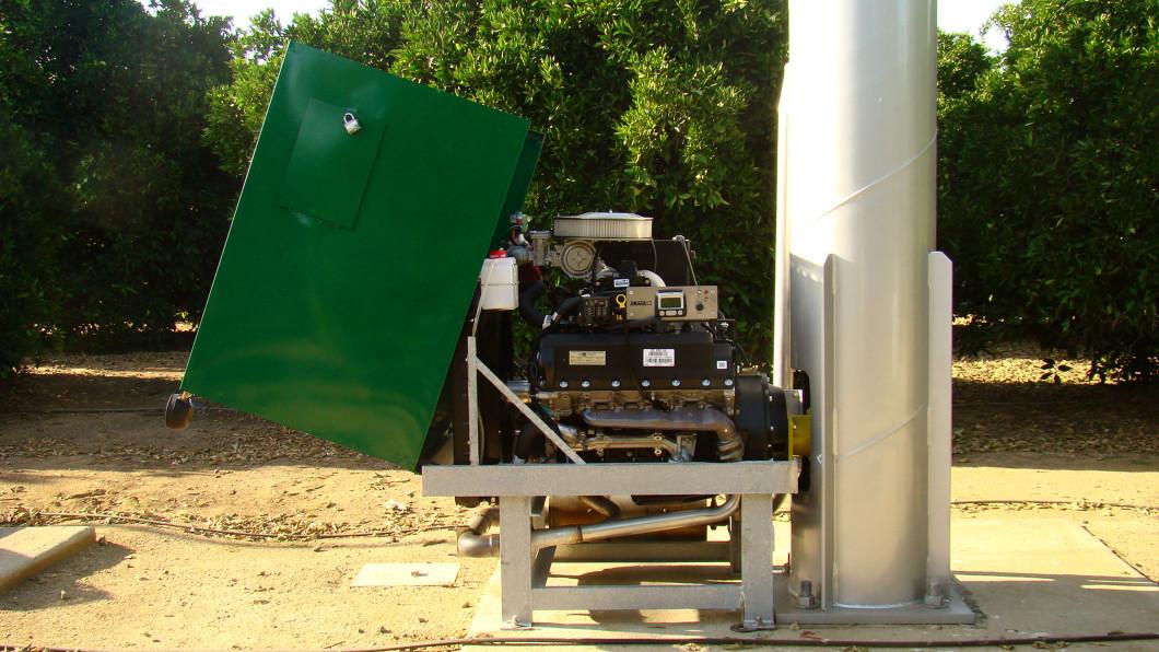 Wind Machine Engine